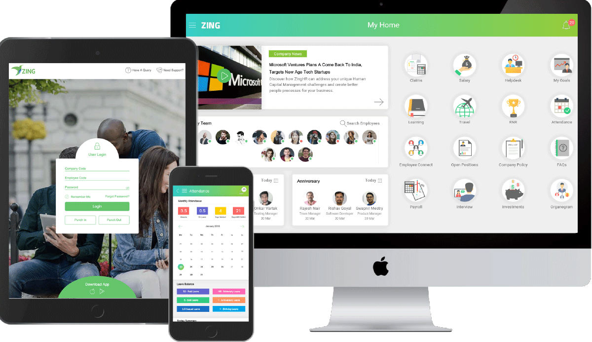 Employee Engagement Portal